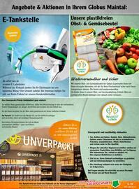 Aktueller Globus Prospekt, Mein Einkauf bei Globus, Seite 21