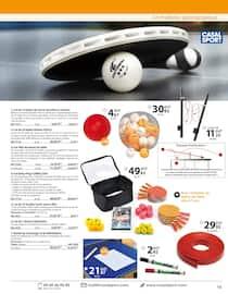 Catalogue Casal Sport en cours, Sports de raquettes, Page 9
