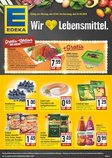 EDEKA, WIR LIEBEN LEBENSMITTEL! für Nürnberg