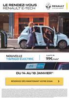 Catalogue Renault en cours, Le rendez-vous Renault E-Tech, Page 1