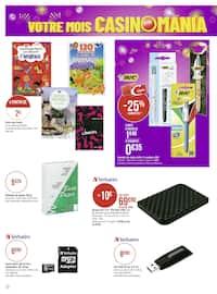 Catalogue Géant Casino en cours, Votre mois Casinomania, Page 70