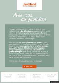 Catalogue Jardiland en cours, Avec vous au quotidien, Page 1