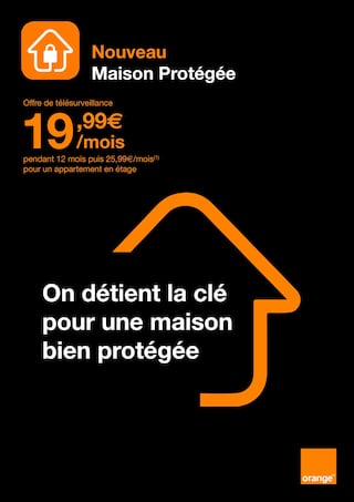 Catalogue Orange en cours, On détient la clé pour une maison bien protégée, Page 1