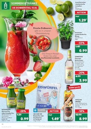 Aktueller Kaufland Prospekt, Lust auf Sommer, Seite 10