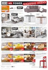 Aktueller XXXLutz Möbelhäuser Prospekt, Power Shopping Week, Seite 8