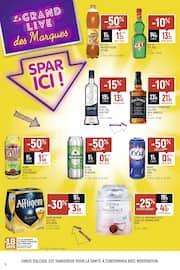 Catalogue Spar en cours, Le grand live des marques, Spar ici !, Page 6