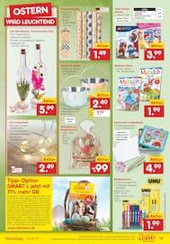 Aktueller Netto Marken-Discount Prospekt, DER ORT, MIT DONUTS VON RING UND NAMEN., Seite 19