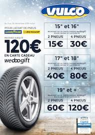 Catalogue Vulco en cours, Jusqu'à 120€ en carte cadeau wedoogift, Page 2