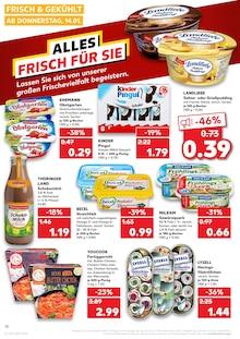 Butter im Kaufland Prospekt KÖNIGLICHE ANGEBOTE: HIER SPART JEDER! auf S. 17