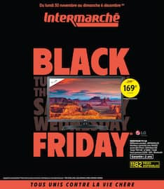 Catalogue Intermarché en cours, Black Friday, Page 1
