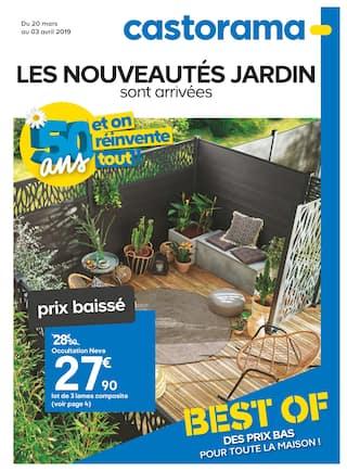 Catalogue Castorama en cours, Les nouveautés jardin sont arrivées , Page 1