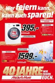 Media-Markt, Wer feiern kann, kann auch sparen! für Köln