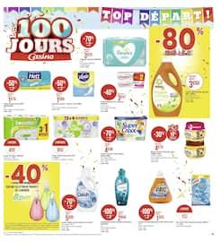 Catalogue Géant Casino en cours, Les 100 jours Casino, Page 19