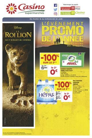Catalogue Casino Supermarchés en cours, L'évènement promo de l'année - Épisode 3, Page 1