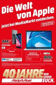MediaMarkt Prospekt Die Welt von Apple jetzt bei MediaMarkt entdecken!