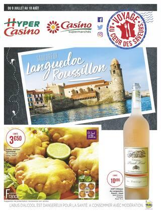 Catalogue Casino Supermarchés en cours, Savoureux Languedoc Roussillon, Page 1