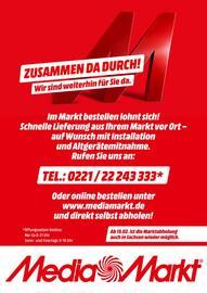 Aktueller MediaMarkt Prospekt, ZUSAMMEN DA DURCH!, Seite 1