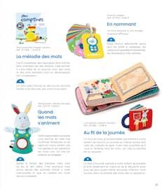 Catalogue Oxybul en cours, Guide d'éveil 0-2 ans. À la découverte de ses talents !, Page 21