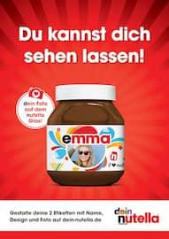 Aktueller Nutella Prospekt, Du kannst dich sehen lassen!, Seite 1