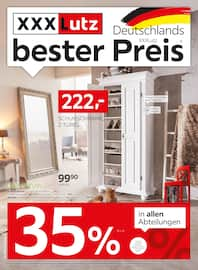 Aktueller XXXLutz Möbelhäuser Prospekt, Deutschlands bester Preis, Seite 1