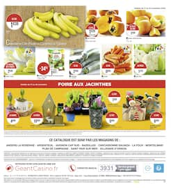 Catalogue Géant Casino en cours, Le mois Casinomania, Page 19