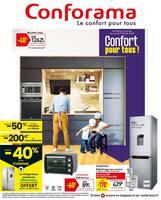 Catalogue Conforama en cours, Confort pour tous !, Page 1