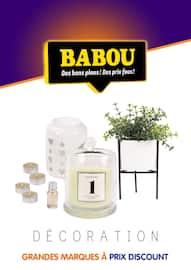 Catalogue Babou en cours, Décoration, Page 1