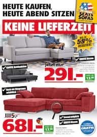 Aktueller Seats and Sofas Prospekt, Keine Lieferzeit, Seite 1