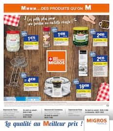 Catalogue Migros France en cours, Spécial Fondue & raclette, Page 4