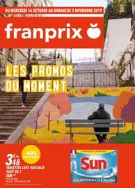 Catalogue Franprix en cours, Les promos du moment, Page 1