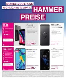Aktueller Telekom Partner Tönisvorst Prospekt, Samsung Danke Deals, Seite 4