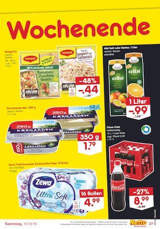 Cola im Netto Marken-Discount Prospekt Kaufe unverpackt! auf S. 28