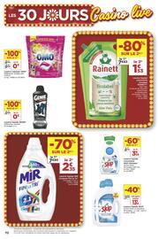 Catalogue Casino Supermarchés en cours, Les 30 jours Casino live, Page 70