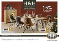 Catalogue H&H en cours, 15% de vos achats en déco, Page 1