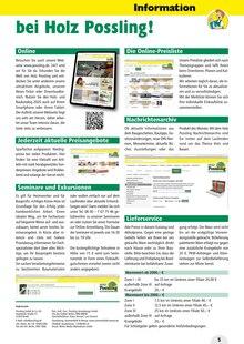 Multimedia im Holz Possling Prospekt Holz- & Baukatalog auf S. 4