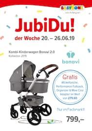 Aktueller BabyOne Prospekt, Jubidu! Der Woche, Seite 1