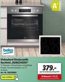 Elektronik von beko im aktuellen Lidl Prospekt für 379€