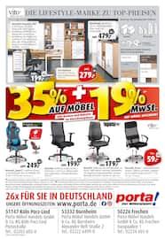 Aktueller porta Möbel Prospekt, 20 Jahre Porta in Frechen, Seite 24