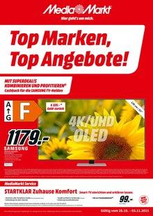 Media-Markt Prospekt für Forst, Baden: Aktuelle Angebote, 6 Seiten, 27.10.2021 - 3.11.2021