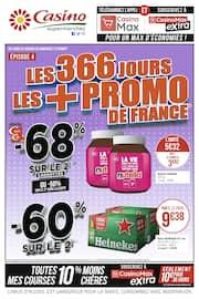 Catalogue Casino Supermarchés en cours, Les 366 jours les + promo de France, Page 1