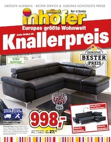 Möbel Inhofer - Jeder Artikel ein Knallerpreis
