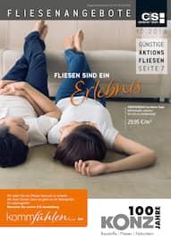 Aktueller Konz Fliesenhandel GmbH Prospekt, Fliesenangebote, Seite 1