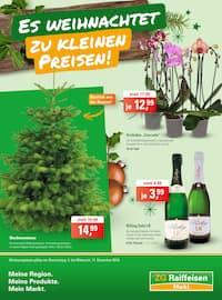 Aktueller ZG Raiffeisen Prospekt, Es weihnachtet zu kleinen Preisen! , Seite 1