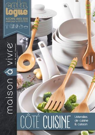 Catalogue Maison à Vivre en cours, Côté Cuisine, Page 1