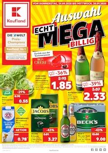 Der aktuelle Kaufland Prospekt ECHT MEGA BILLIG