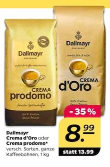 Kaffee von Dallmayr im aktuellen NETTO mit dem Scottie Prospekt für 8.99€