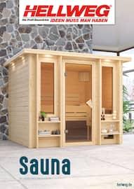 Aktueller Hellweg Prospekt, Sauna, Seite 1