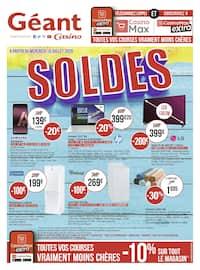 Catalogue Géant Casino en cours, Soldes, Page 1