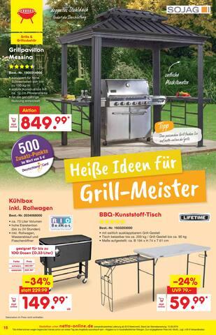 Aktueller Netto Marken-Discount Prospekt, Sommer, Sonne, Freizeit!, Seite 16