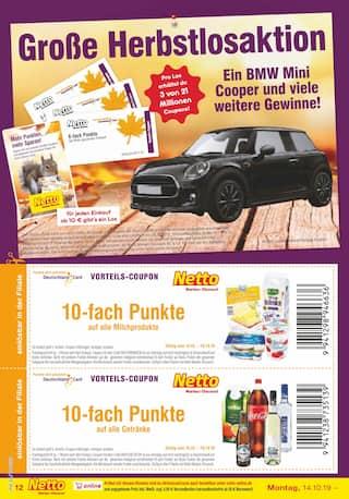 Getraenke im Netto Marken-Discount Prospekt Kaufe unverpackt! auf S. 13